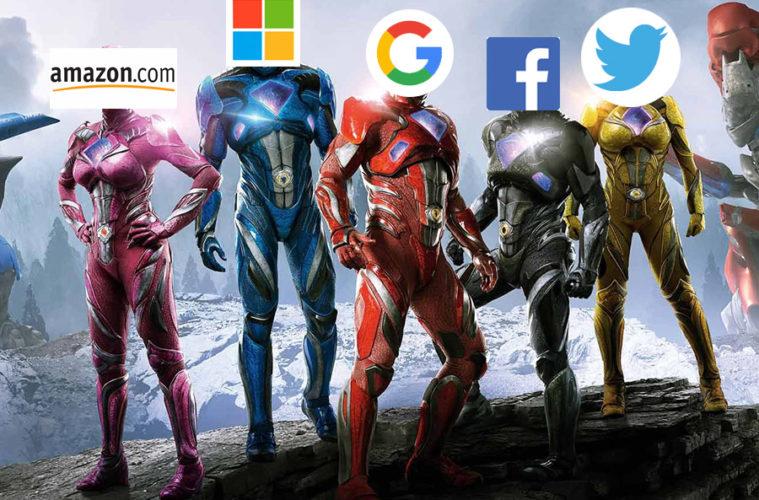 amazon google twitter ms facebook